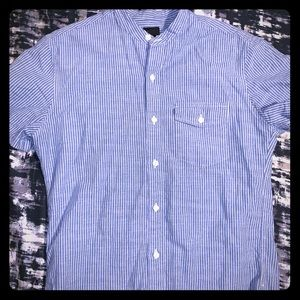 JCREW SHORT-sleeve Button Down sz Small